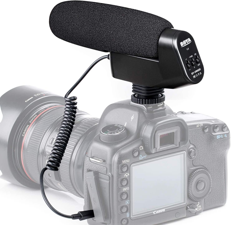 boya by vm600 condenser mic image