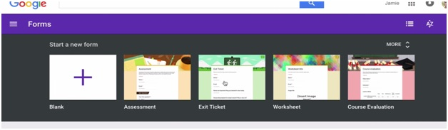 google forms templates image