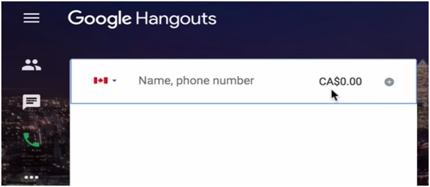 hangout call through email image