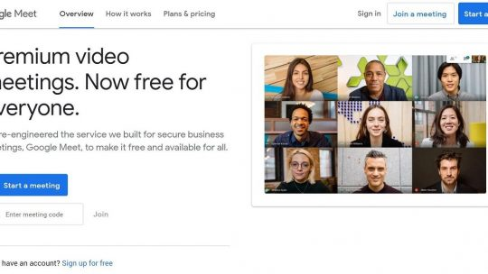 how to use google meet featured image