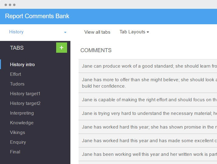 report comment bank image