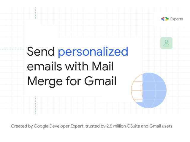 mail merge for gmail extension image