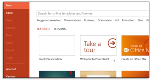 apply powerpoint templates