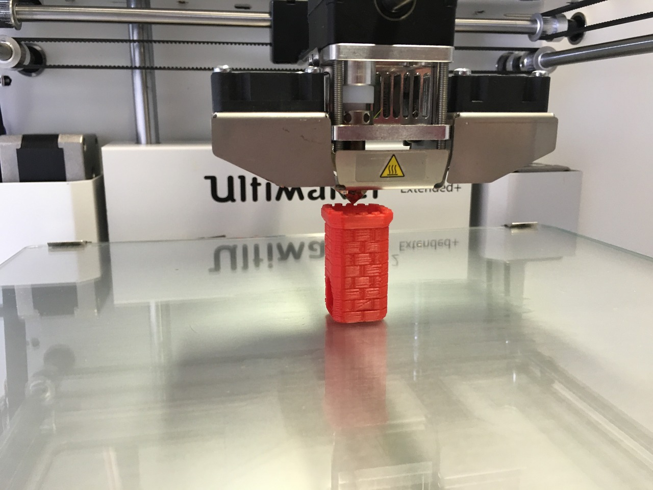 printing with large 3d printer