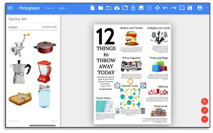 pictographr add on for google forms
