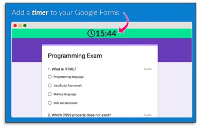 quilgo add a timer to your google forms