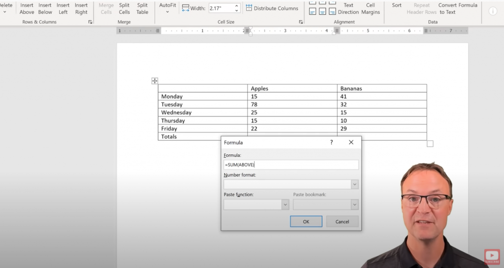 Operate Your Microsoft Word Like Excel