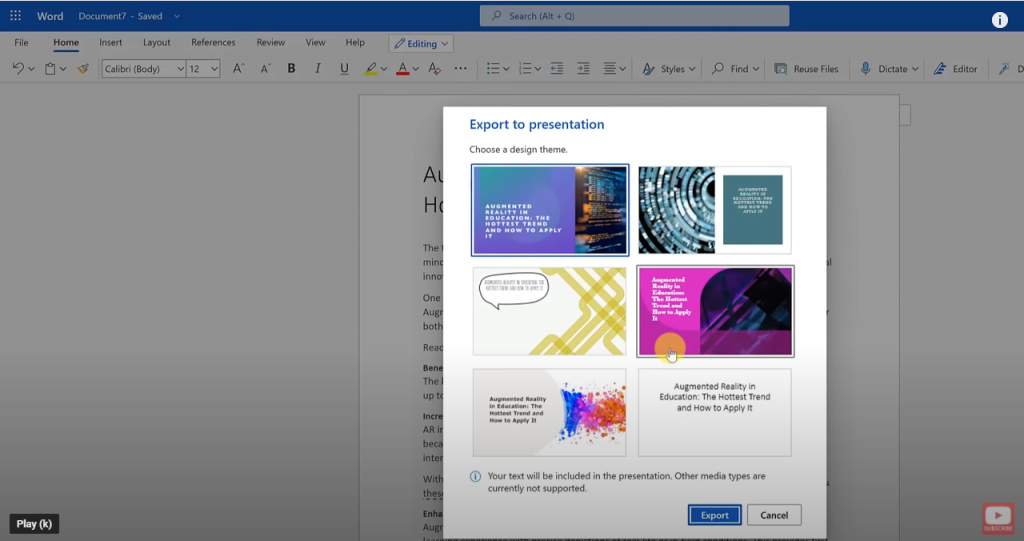Turn Word Documents into PowerPoint
