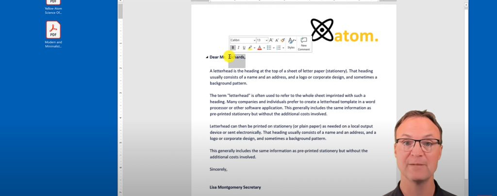 Use Microsoft Word to Also Edit PDF