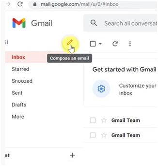 compose gmail in gmail web